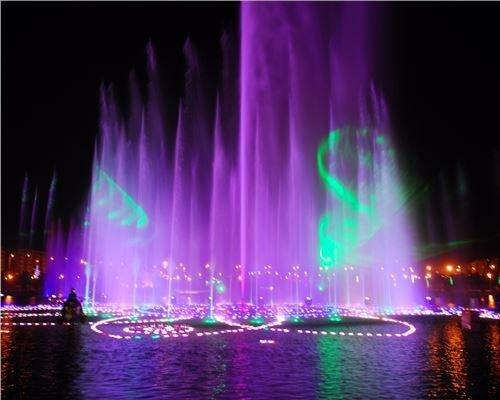 长隆主题公园喷泉秀