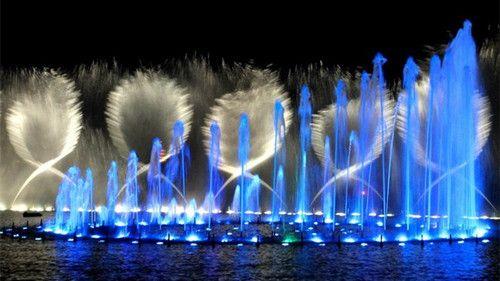 西安世园夜景亮化与灯光表演秀